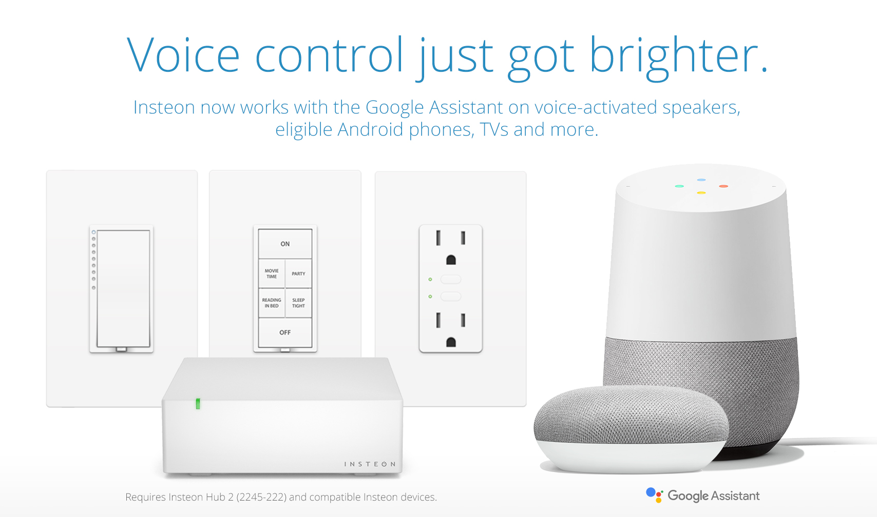 Insteon works with the Google Assistant — Insteon